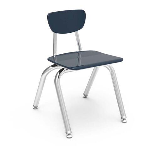 Quick Ship 3000 Series Hard Plastic Stack Chair with 14