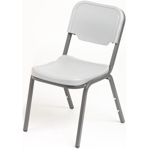 Rough N Ready Stack Chair - Set of Four - Platinum