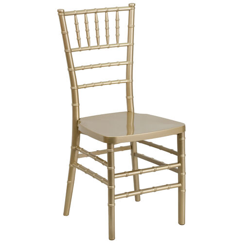 "Our HERCULES PREMIUM Series Gold Resin Stacking Chiavari Chair with <span style=""color:#0000CD;"">Free </span> Cushion is on sale now."