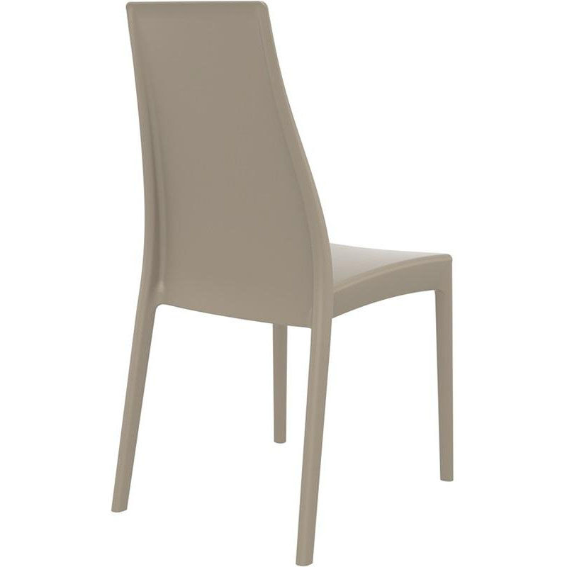 ... Our Miranda Outdoor Resin Stackable High Back Dining Chair - Dove Gray is on sale now ...  sc 1 st  StackChairs4Less & Gray Stacking Dining Chair ISP039-DVR | StackChairs4Less.com