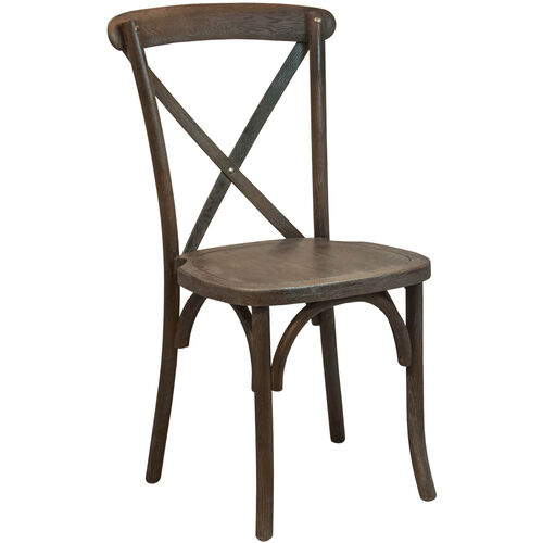 Our Advantage Dark Driftwood X-Back Chair is on sale now.
