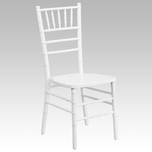 """Our HERCULES Series White Wood Chiavari Chair with <span style=""""color:#0000CD;"""">Free </span> Cushion is on sale now."""