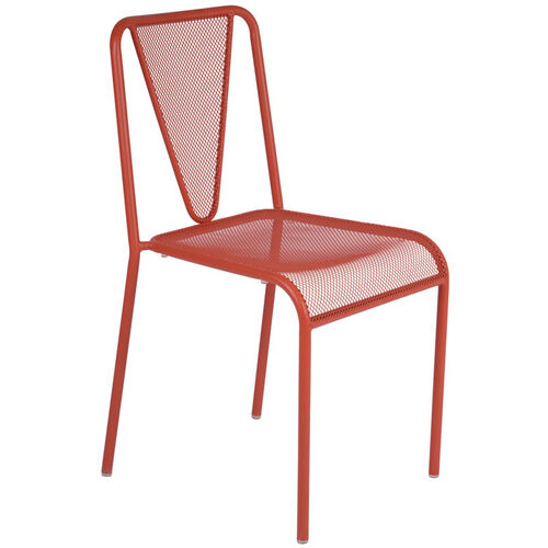 Our Venice Beach Micro Mesh Stacking Side Chair - Grenadine is on sale now.