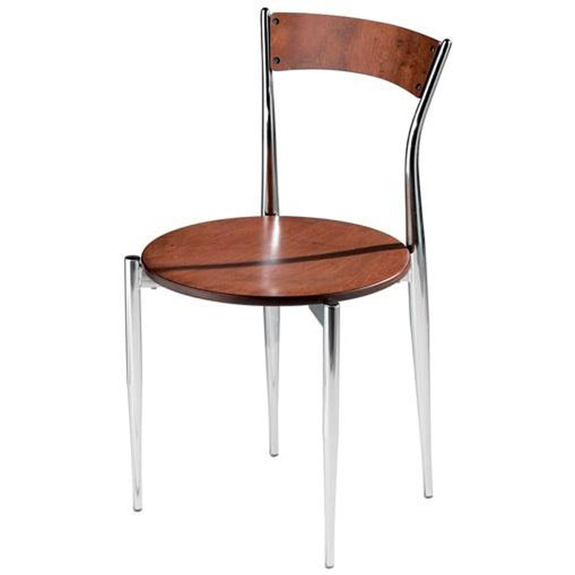 Mts Seating Cafe Twist Maple Chair With Ply Wood Back And