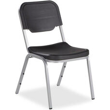 Rough N Ready Stack Chair - Set of Four - Charcoal