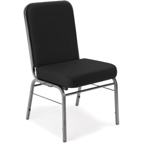 Our Comfort Class 300 lb. Capacity Stack Chair - Black is on sale now.