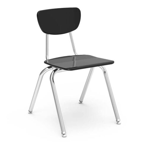 3000 Series Hard Plastic Stack Chair with 18