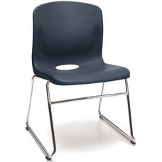 Multi-Use Plastic Seat and Back Stacker - Navy