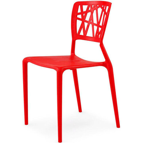 Our Phoenix Outdoor Stackable Armless Side Chair - Red is on sale now.