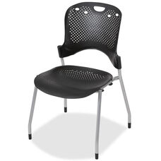 Balt Circulation Armless Stacking Chair - Carton of 4