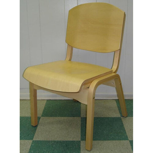 Our Campus 4 Armless Stacking Guest Chair - Wood Seat is on sale now.