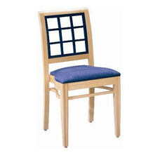 599 Stacking Chair w/ Upholstered Seat - Grade 2