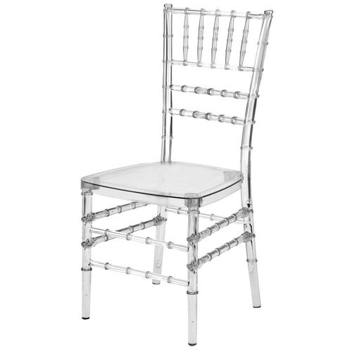 Our Mirage Clear Chiavari Polycarbonate Chair is on sale now.