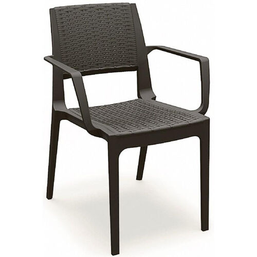 Our Capri Outdoor Wickerlook Resin Dining Arm Chair is on sale now.