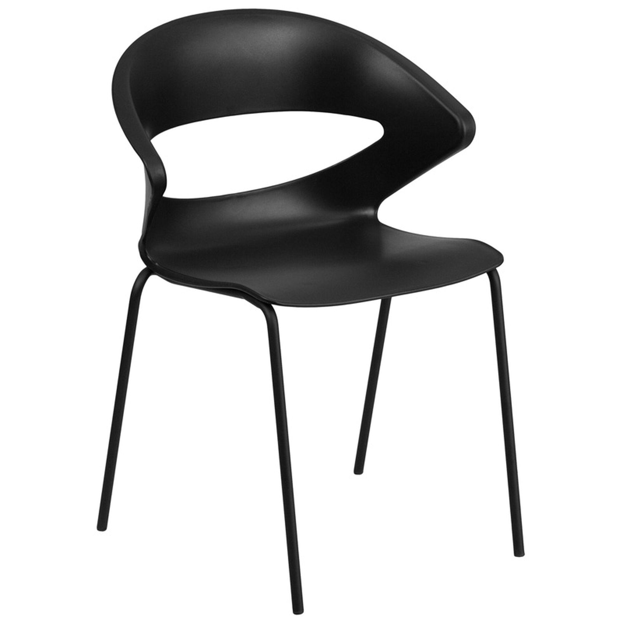 black stack chair rut 4 bk gg. Black Bedroom Furniture Sets. Home Design Ideas