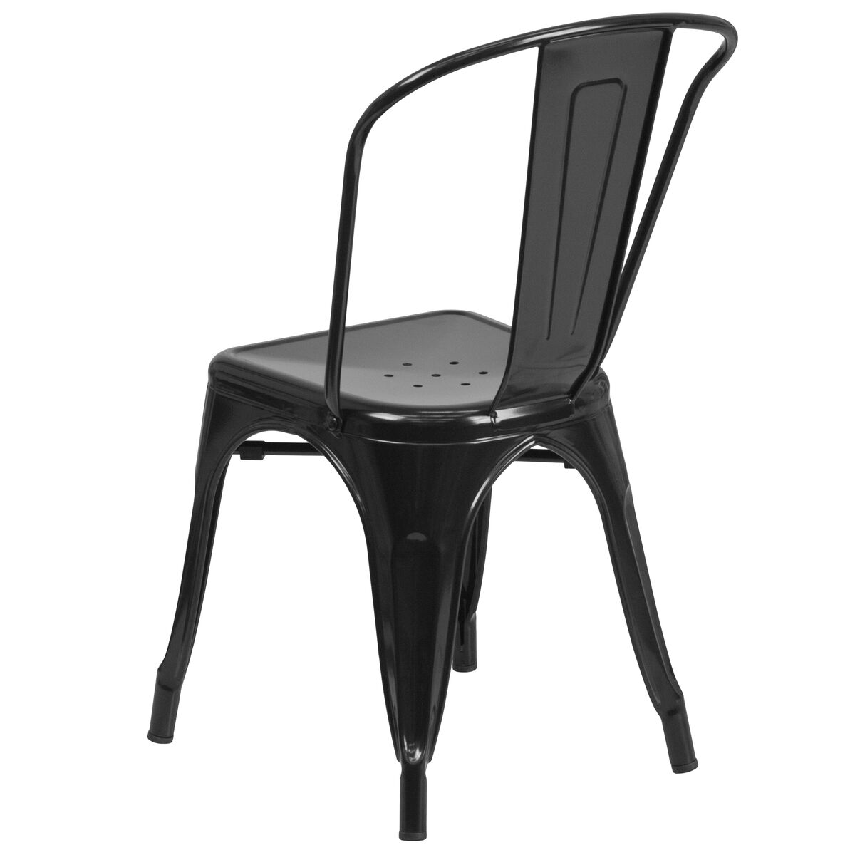 outdoor metal chair. Our Black Metal Indoor-Outdoor Stackable Chair Is On Sale Now. Outdoor