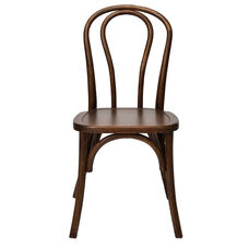 American Classic Sonoma Bentwood Stackable Chair - Dark Walnut