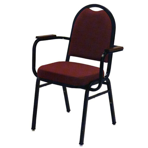 Our 1500 Series Stacking Hospitality Armchair with Rounded Back and 2