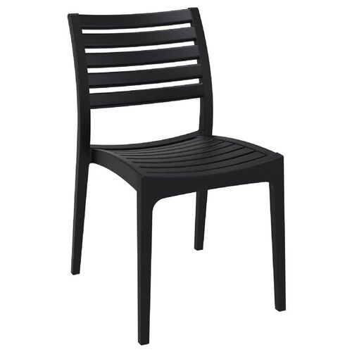 Ares Resin Outdoor Stackable Dining Chair
