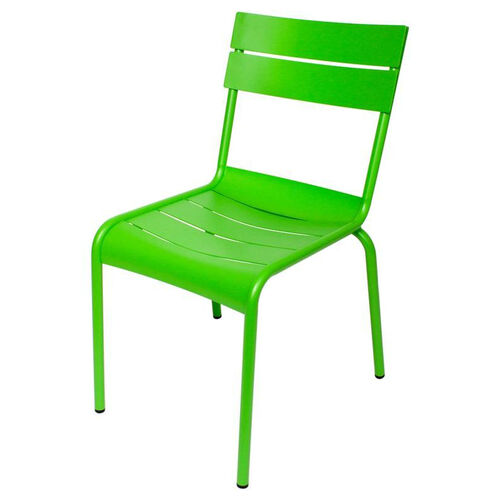 Our Beachcomber Stackable Outdoor Aluminum Armless Chair - Lime is on sale now.