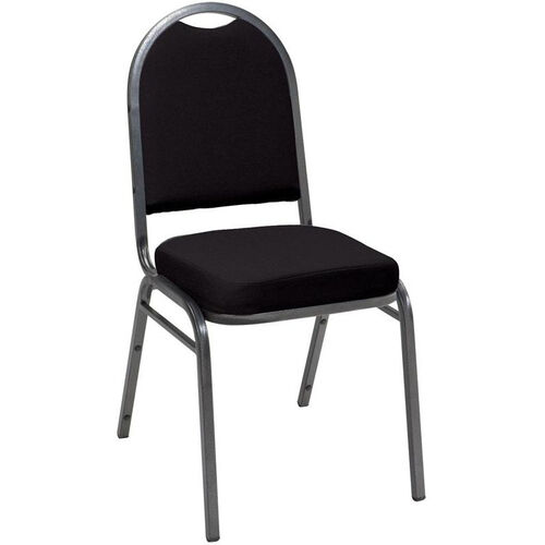 Our 520 Series Stacking Armless Hospitality Chair with Rounded Back and 2