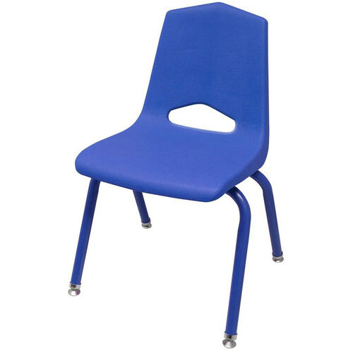 MG Series V-Back Steel Frame Stack Chair with Colored Frame