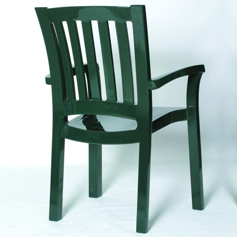Our Sunshine Outdoor Resin Stackable Dining Arm Chair   Dark Green Is On  Sale Now.