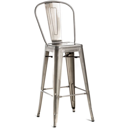 Oscar Steel Armless Barstool