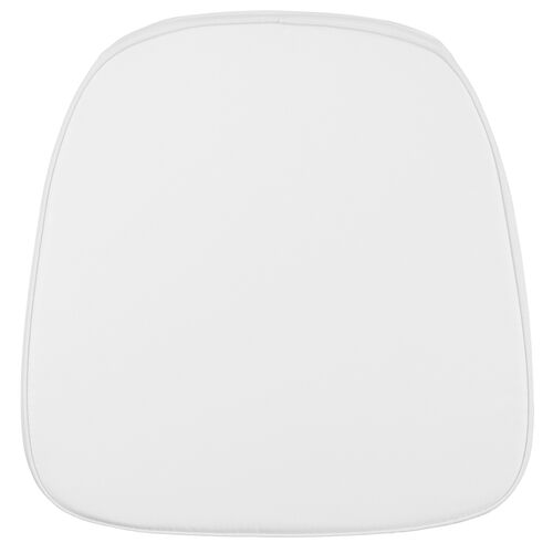Our Soft Snow White Fabric Chiavari Chair Cushion is on sale now.