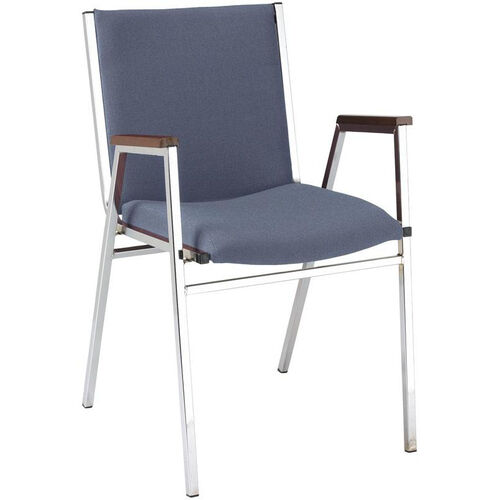 Our 400 Series Stacking Square Steel Frame Hospitality Armchair with Full Back and 2