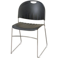 2100 Series Stacking Multipurpose Polypropylene Chair with Steel Sled Base