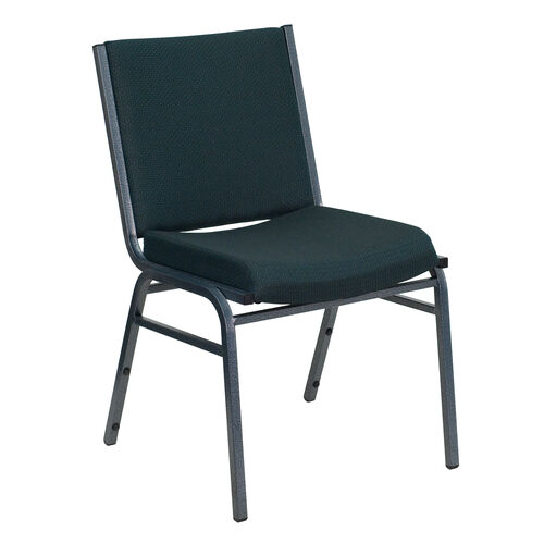 Our HERCULES Series Heavy Duty Green Patterned Fabric Stack Chair is on sale now.