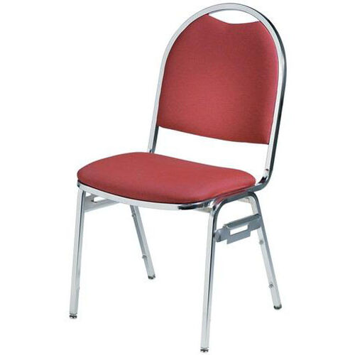 Our Convention Stacker Half Moon Back with Chrome Finish Chair is on sale now.