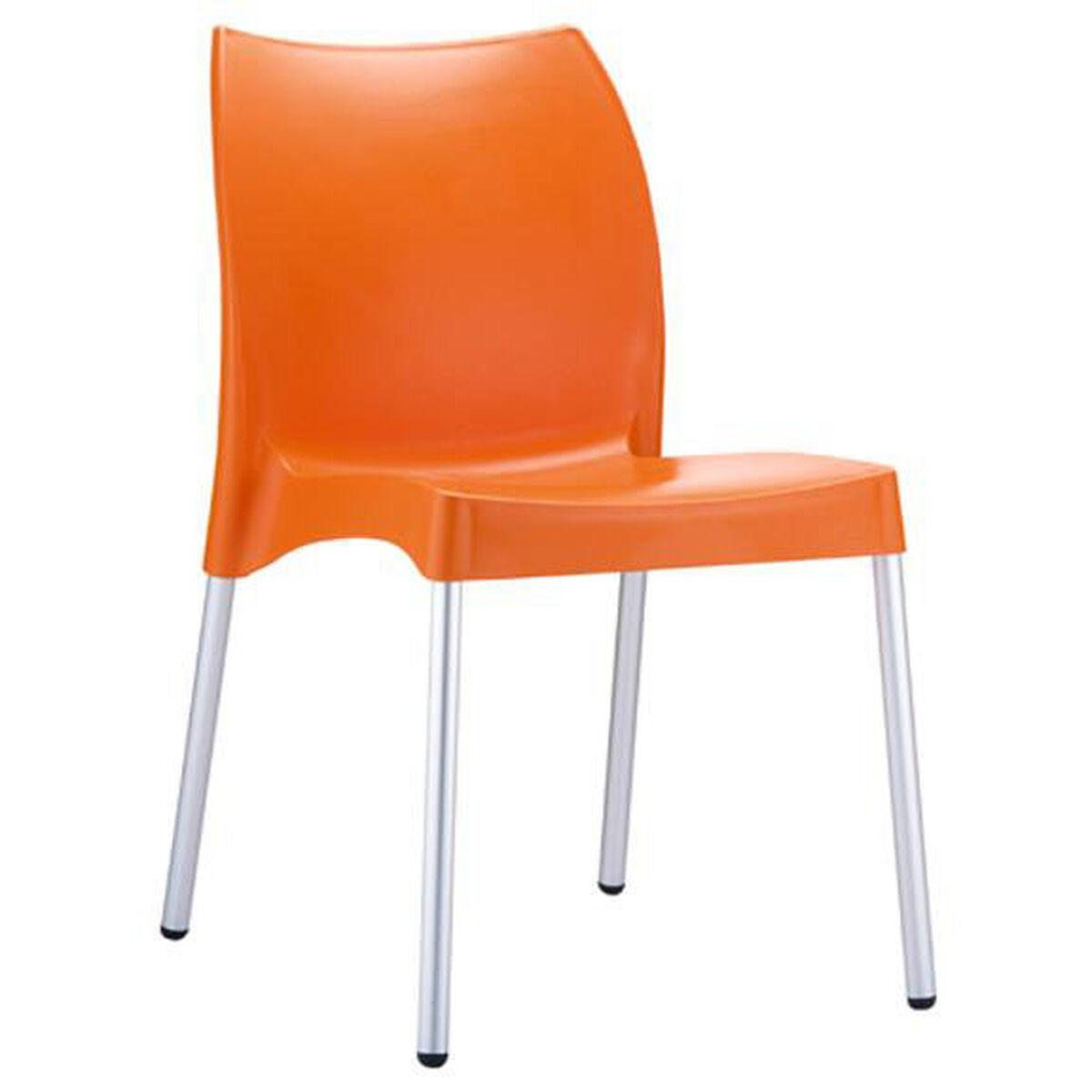 orange stackable side chair 049 3846. Black Bedroom Furniture Sets. Home Design Ideas