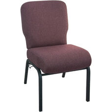 Advantage Signature Elite Black Cherry Church Chair - 20 in. Wide