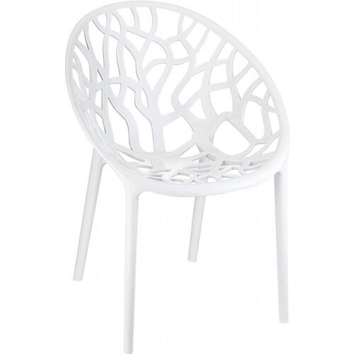 Crystal Modern Design Polycarbonate Dining Chair