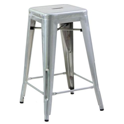 Steel Tolix Backless Barstool