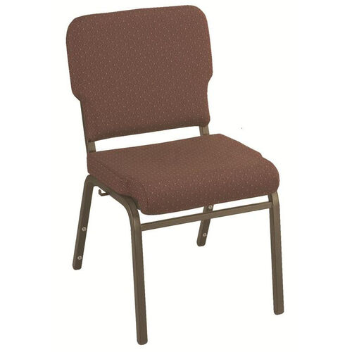 Our 1000 Series Stacking Steel Frame Armless Hospitality Chair with 3