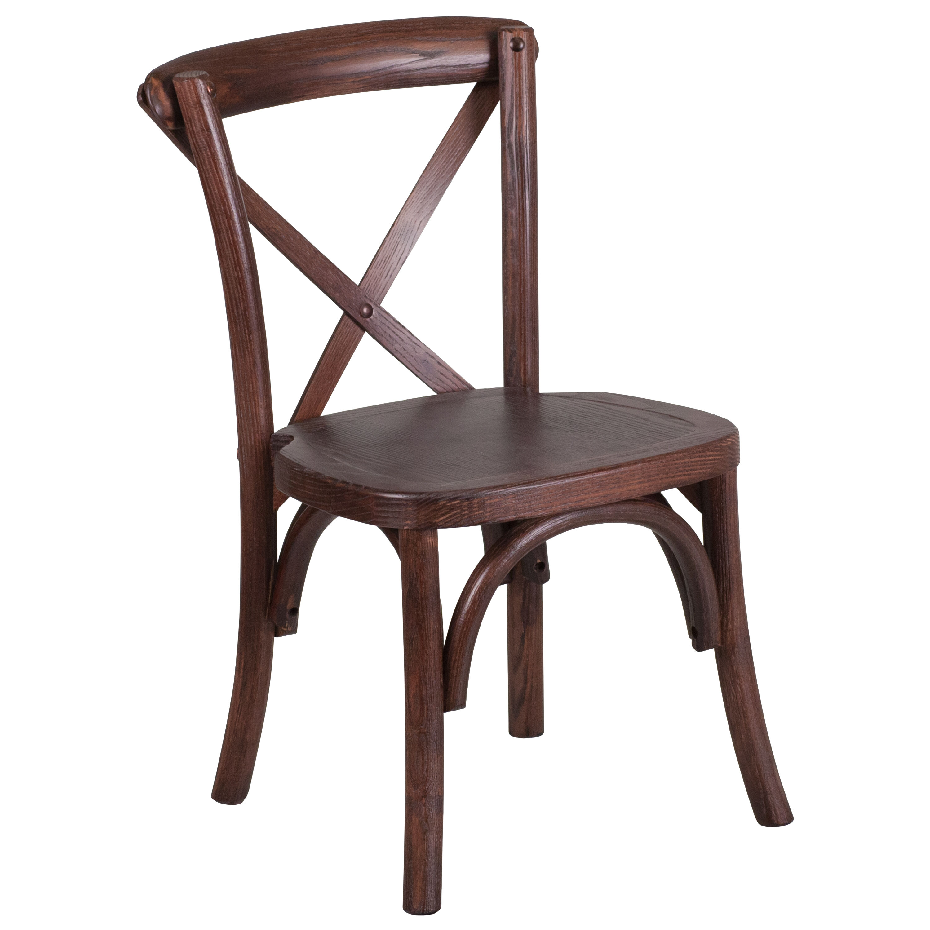 ... Our HERCULES Series Stackable Kids Mahogany Wood Cross Back Chair Is On  Sale Now.