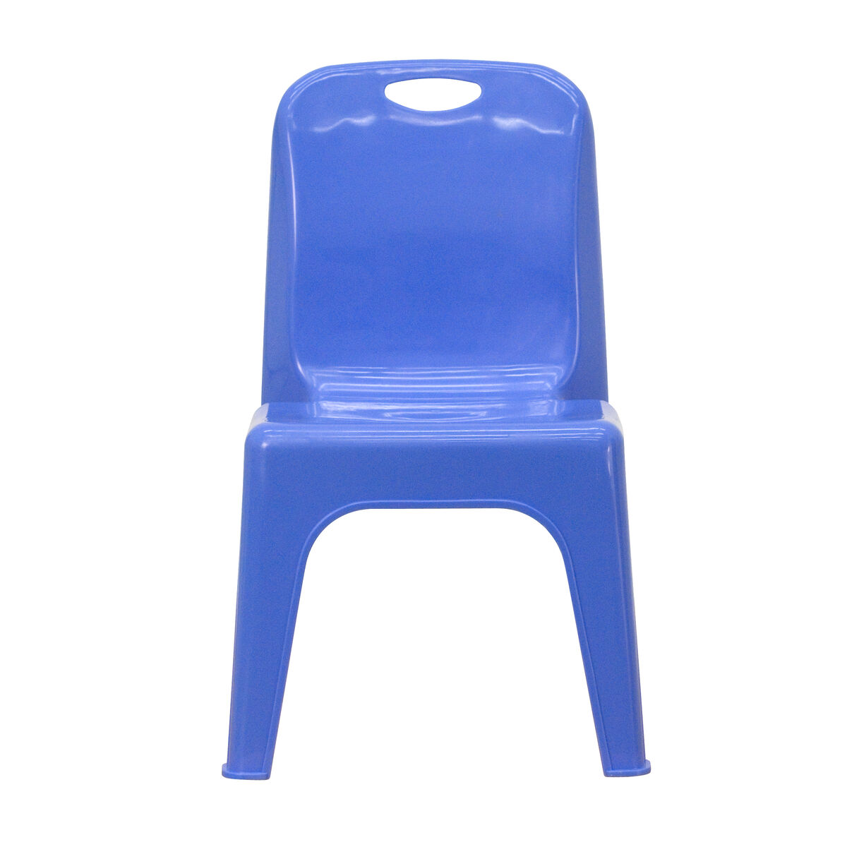 Flash furniture yu ycx 011 blue gg stackchairs4lesscom for Blue plastic chair