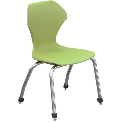Apex Series Plastic Stack Chair with Chrome Frame
