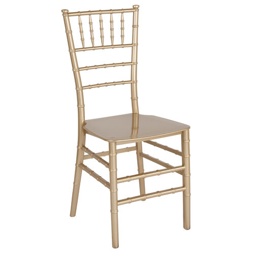 "Our HERCULES Series Gold Resin Stacking Chiavari Chair with <span style=""color:#0000CD;"">Free </span> Cushion is on sale now."