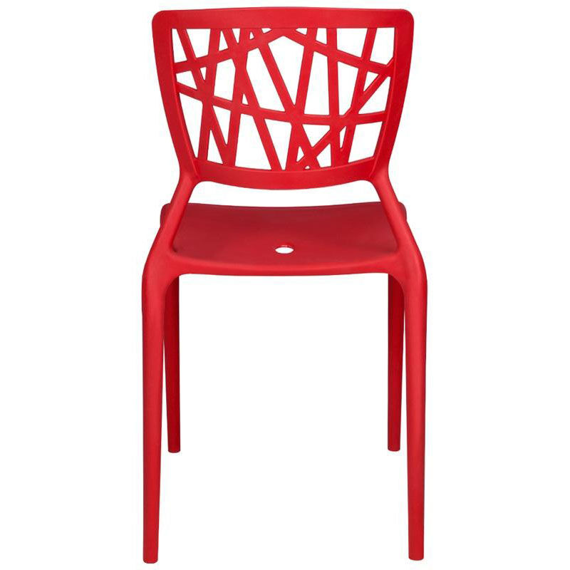 Our Phoenix Outdoor Stackable Armless Side Chair   Red Is On Sale Now.