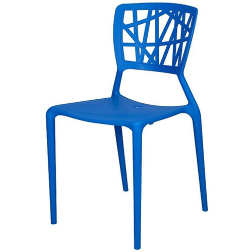Our Phoenix Outdoor Stackable Armless Side Chair - Blue is on sale now.