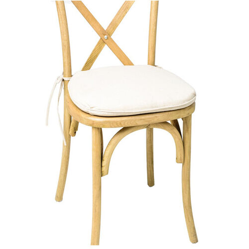 Our Sonoma Crossback X02 Chair Burlap Cushion - Ivory is on sale now.
