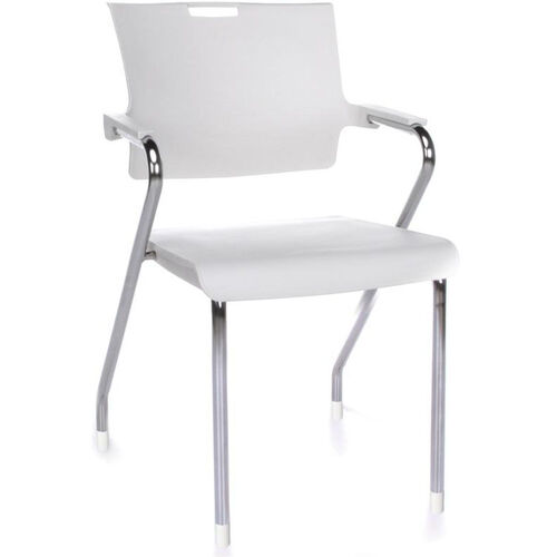 Our Smart 300 lb Capacity Stack Chair - White is on sale now.